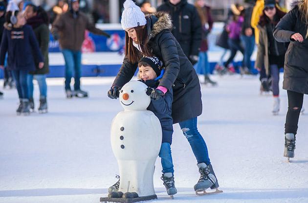 The Winter Village at Bryant Park Opens Oct. 31