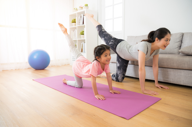 Virtual Fitness Classes and Apps to Keep Kids Active Indoors
