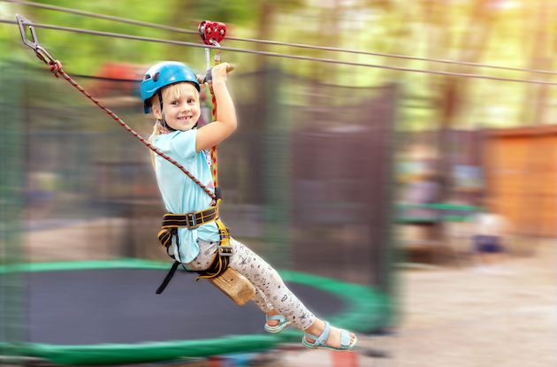 Zip Line and Adventure Courses in the New York Area