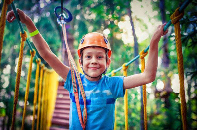The Top 5 Zip Line and Aerial Ropes Courses in Rockland County
