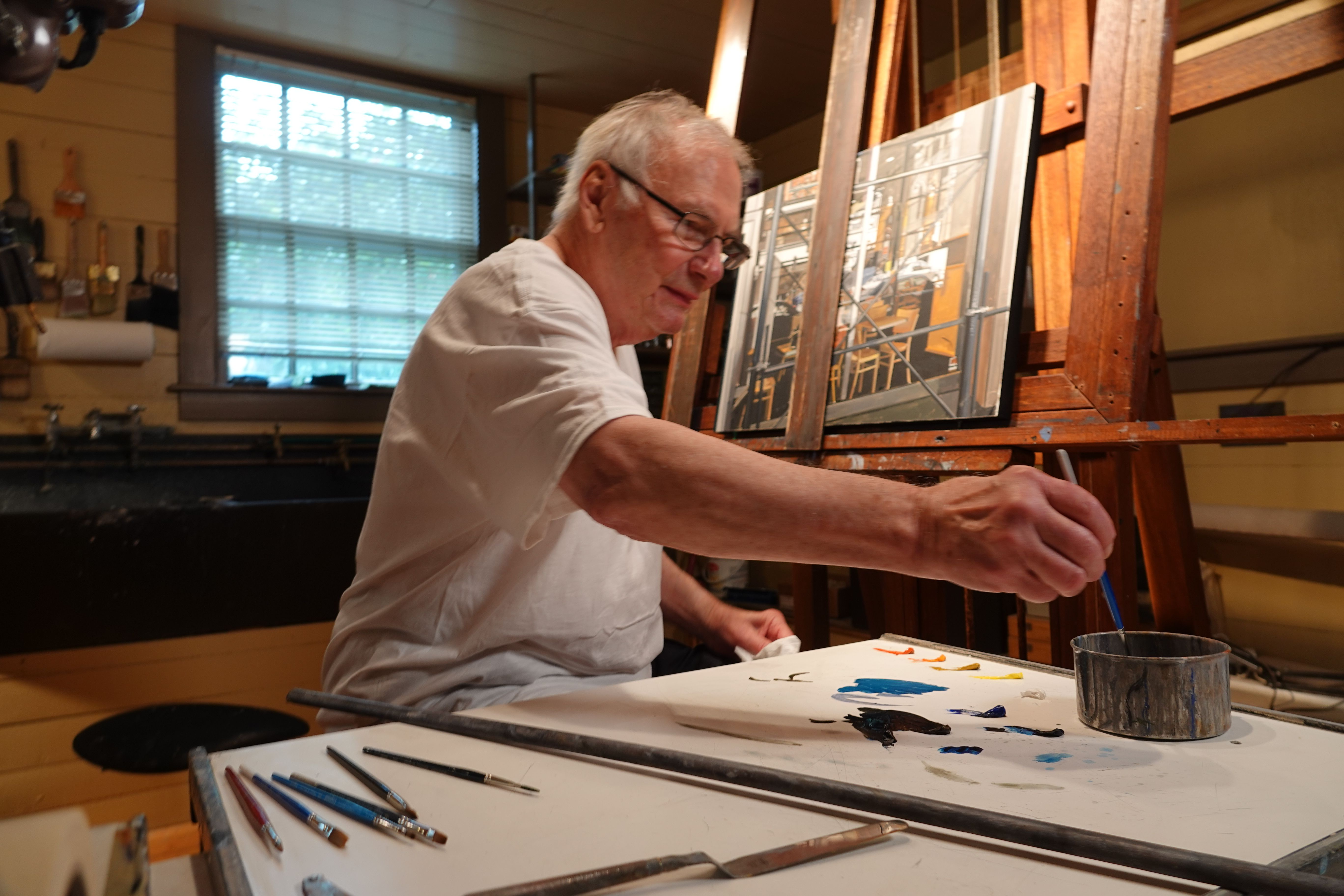ONLINE Friday Night Flicks: 'Actually Iconic: Richard Estes' at Housatonic Museum of Art