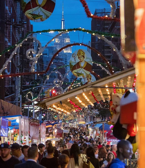 95th Annual Feast of San Gennaro at Mulberry Street