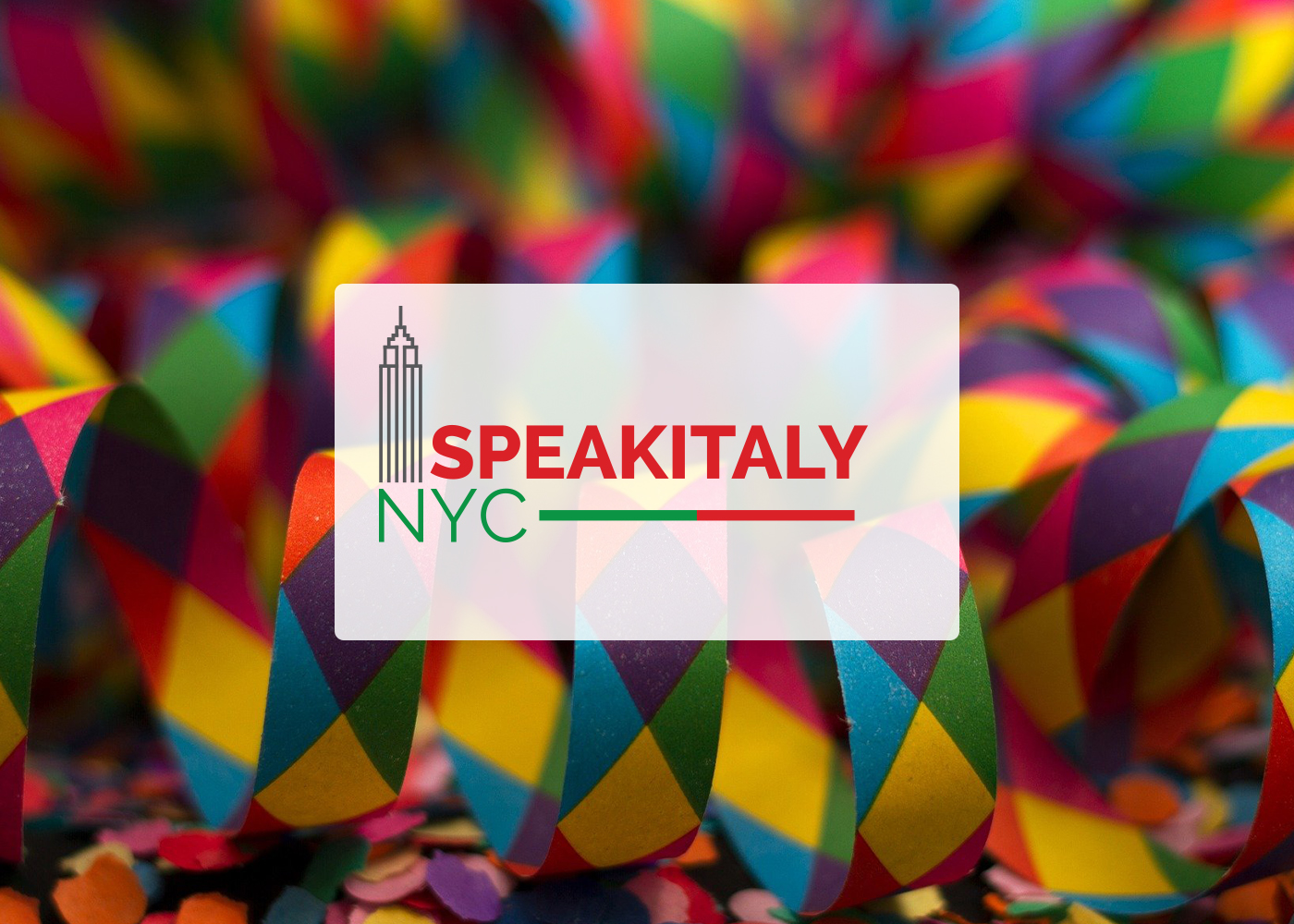 ONLINE Decoupage Workshop at Speakitaly NYC