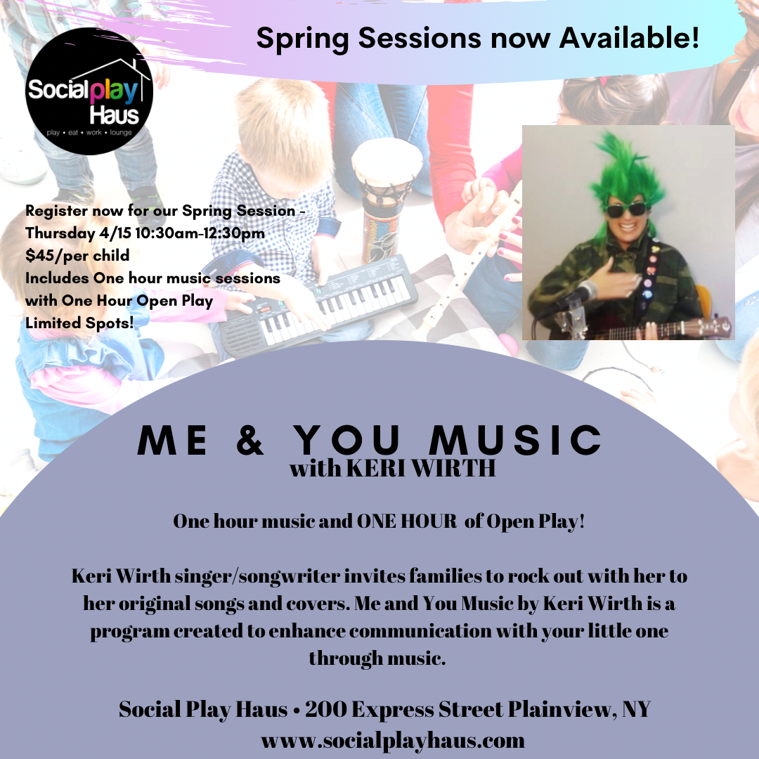 Me & You Music with Keri Wirth at Social Play Haus