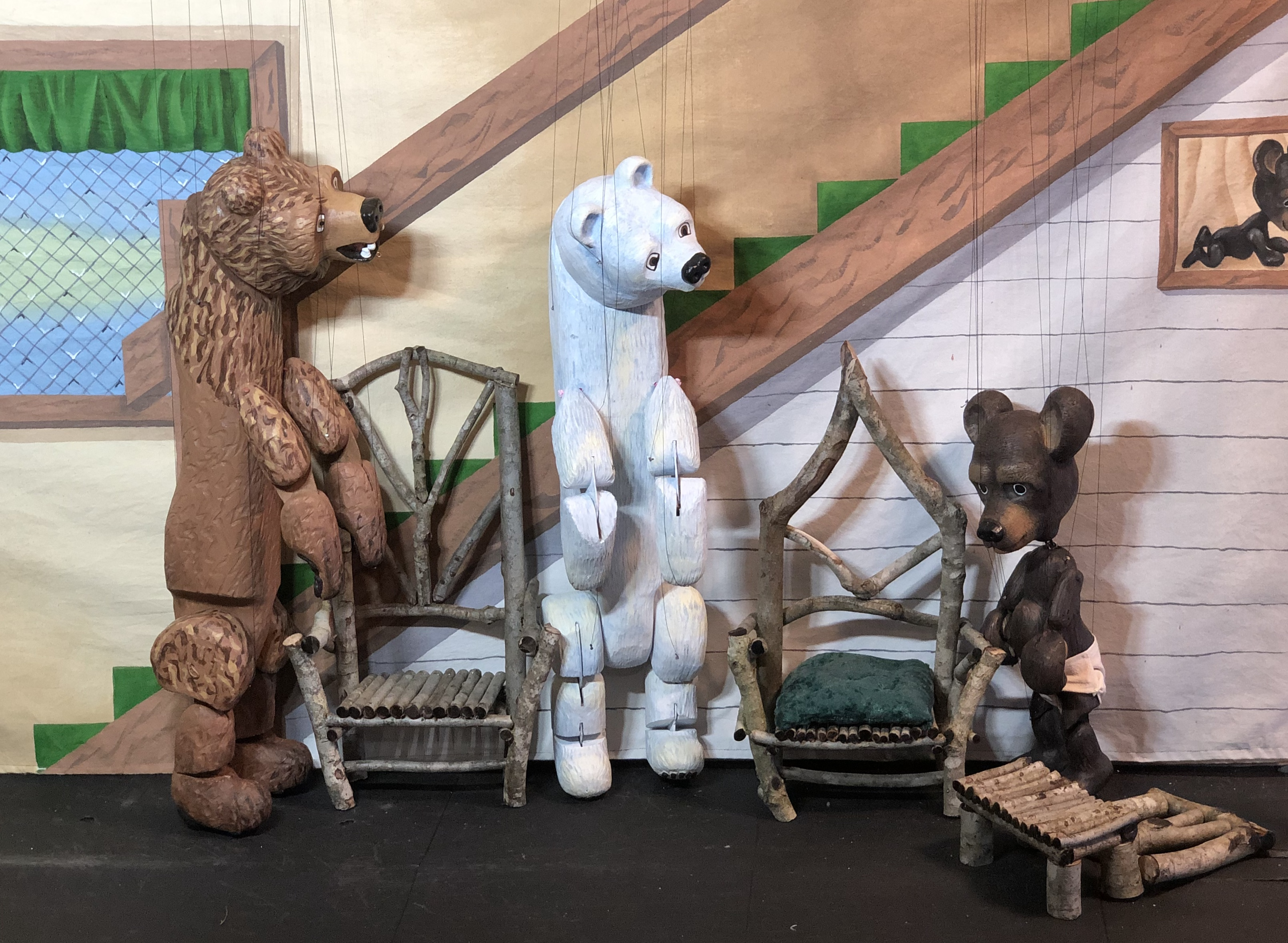 JUST KIDDING: STEVENS PUPPETS: GOLDILOCKS AND THE THREE BEARS at Symphony Space