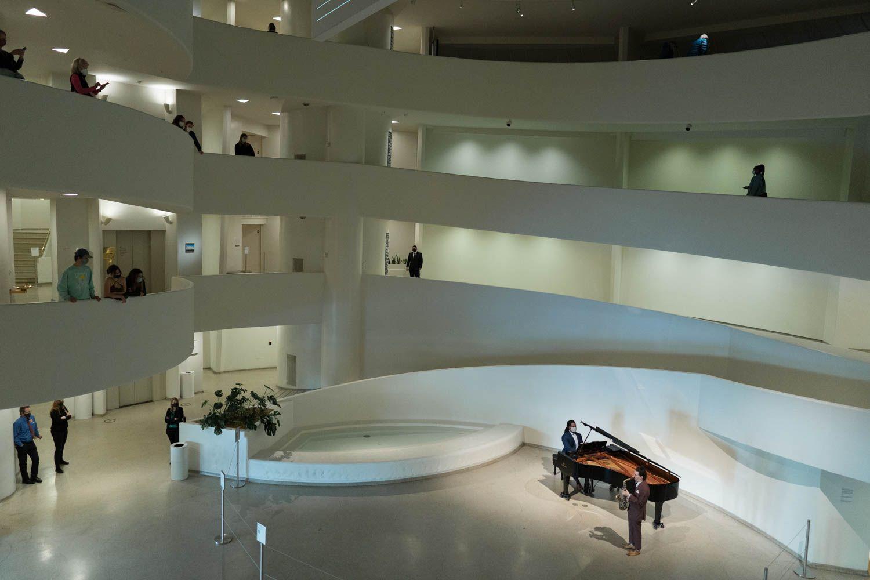 Daytime Pop Up Performances at The Solomon R Guggenheim Museum