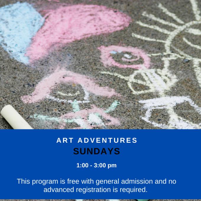 Art Adventures: Sidewalk Art at Bruce Museum
