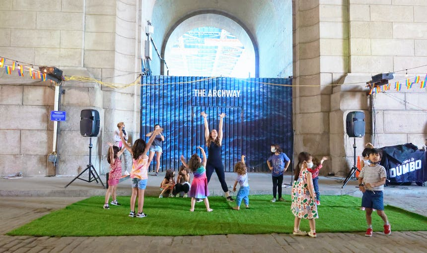 Daily Dose of Dumbo: Dance Class with Miss Katlyn at Dumbo Archway