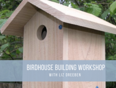 Birdhouse Building workshop at Untermyer Park and Gardens