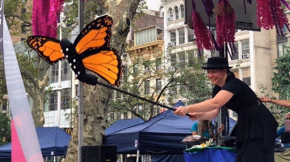 Marvelous Metamorphoses: An Outdoor Performance at Greenwich Audubon Center