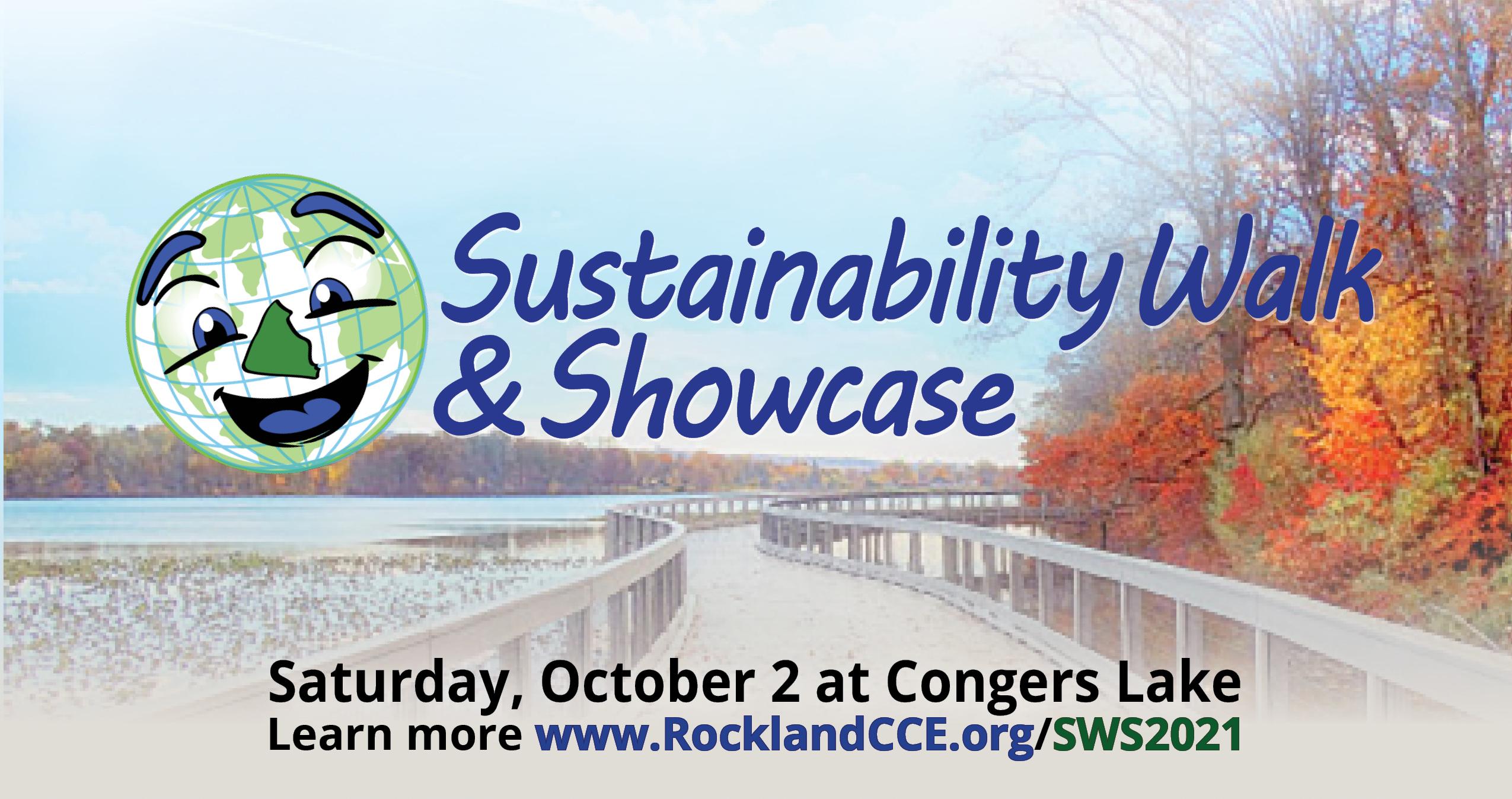Sustainability Walk and Showcase at Congers Lake
