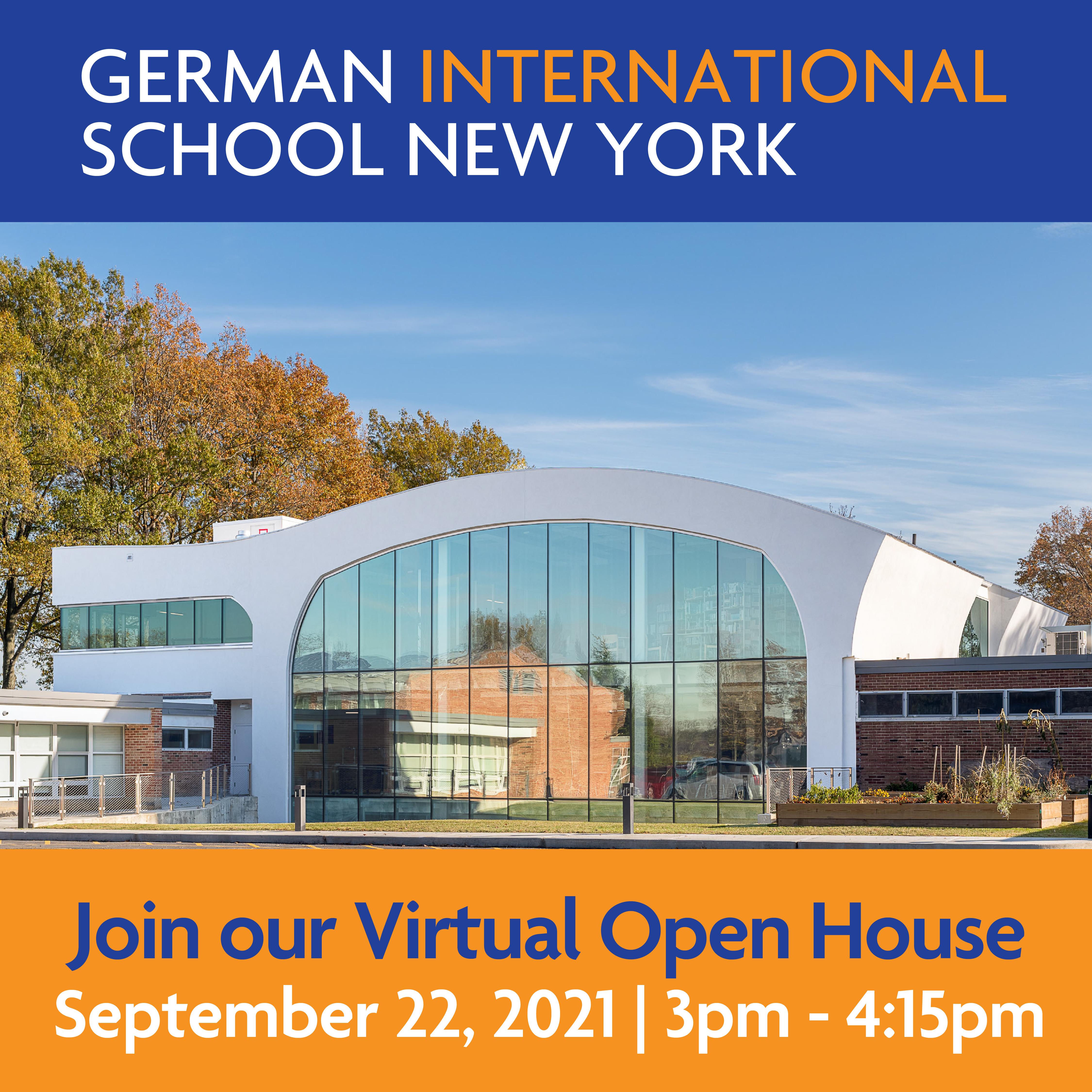 Virtual Open House at German International School New York