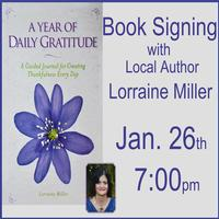 Lorraine Miller: Author Talk and Book Signing at The Dolphin Bookshop & Cafe