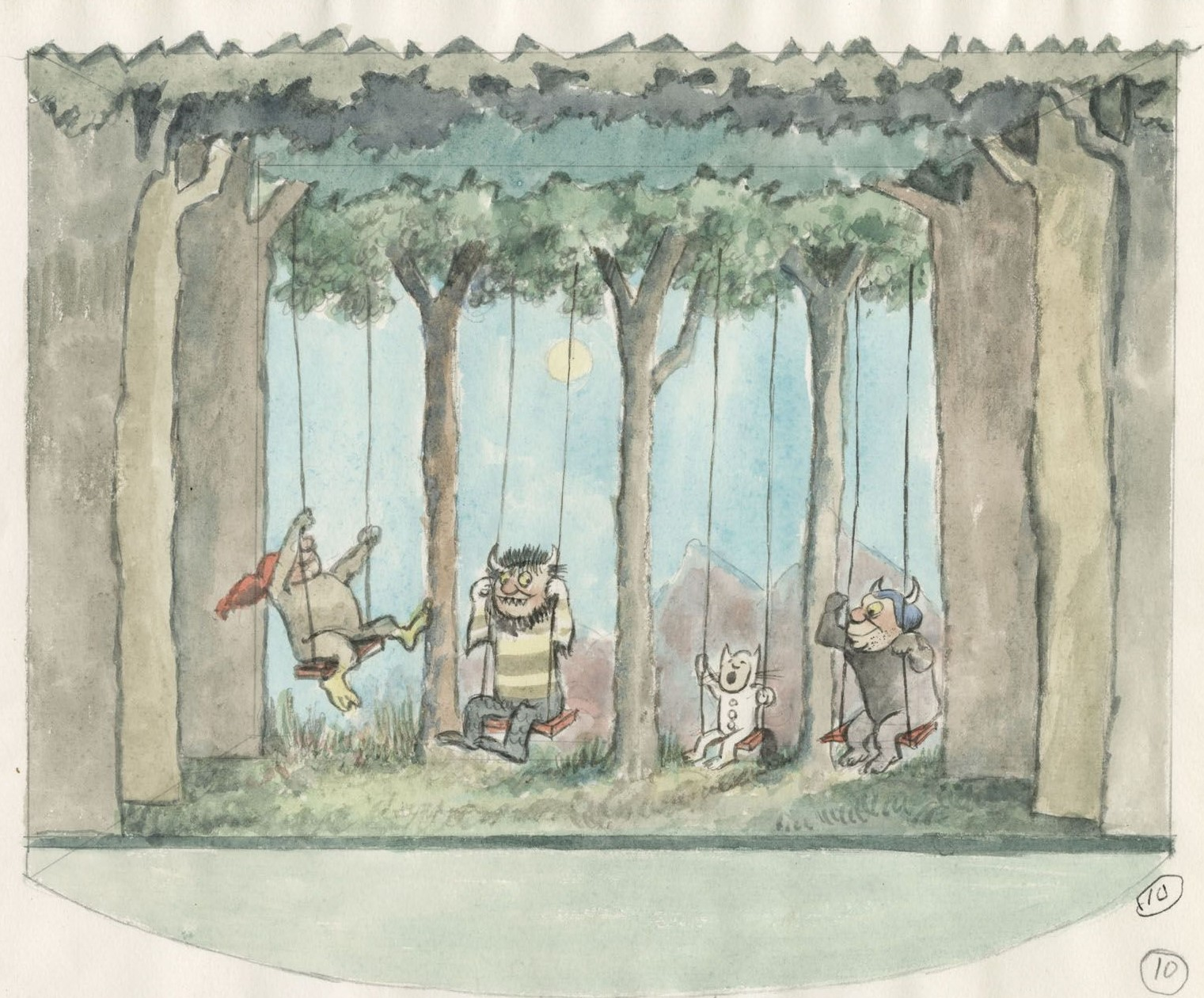 Family Workshop: The Library Where the Wild Things Are: Maurice Sendak at the Morgan at The Morgan Library & Museum