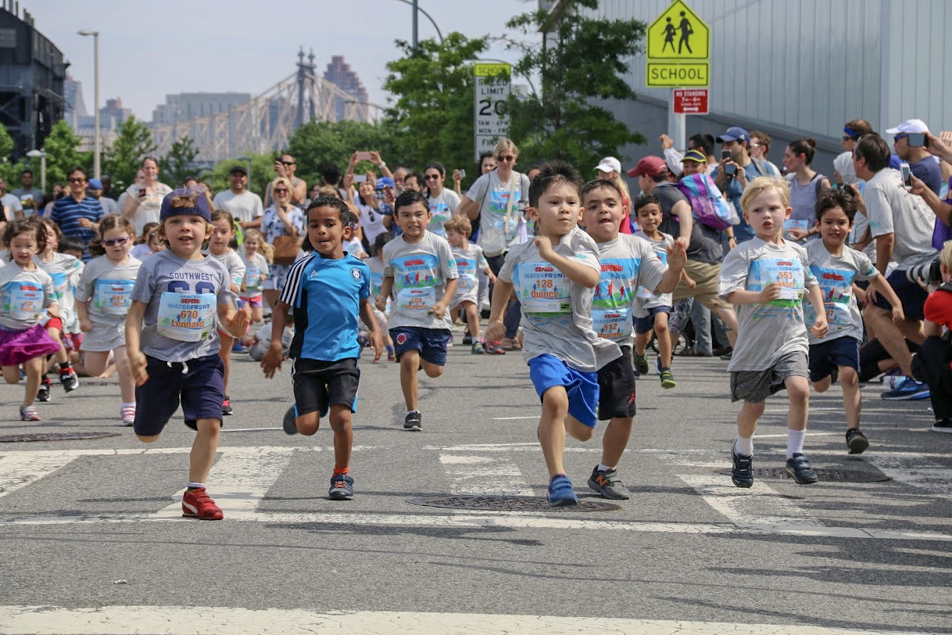LIC Waterfront 5K and Kids Dash at Hunter's Point South Park