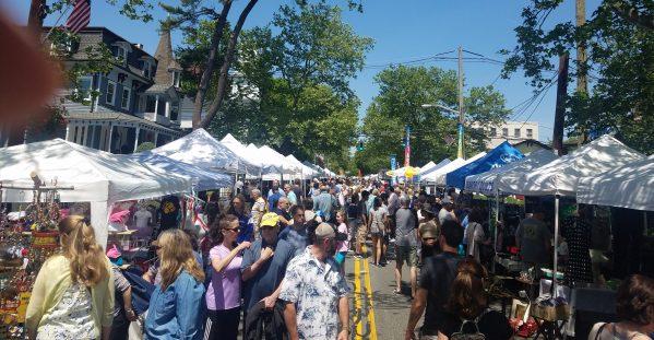 Nyack's Famous Street Fair at Downtown Nyack