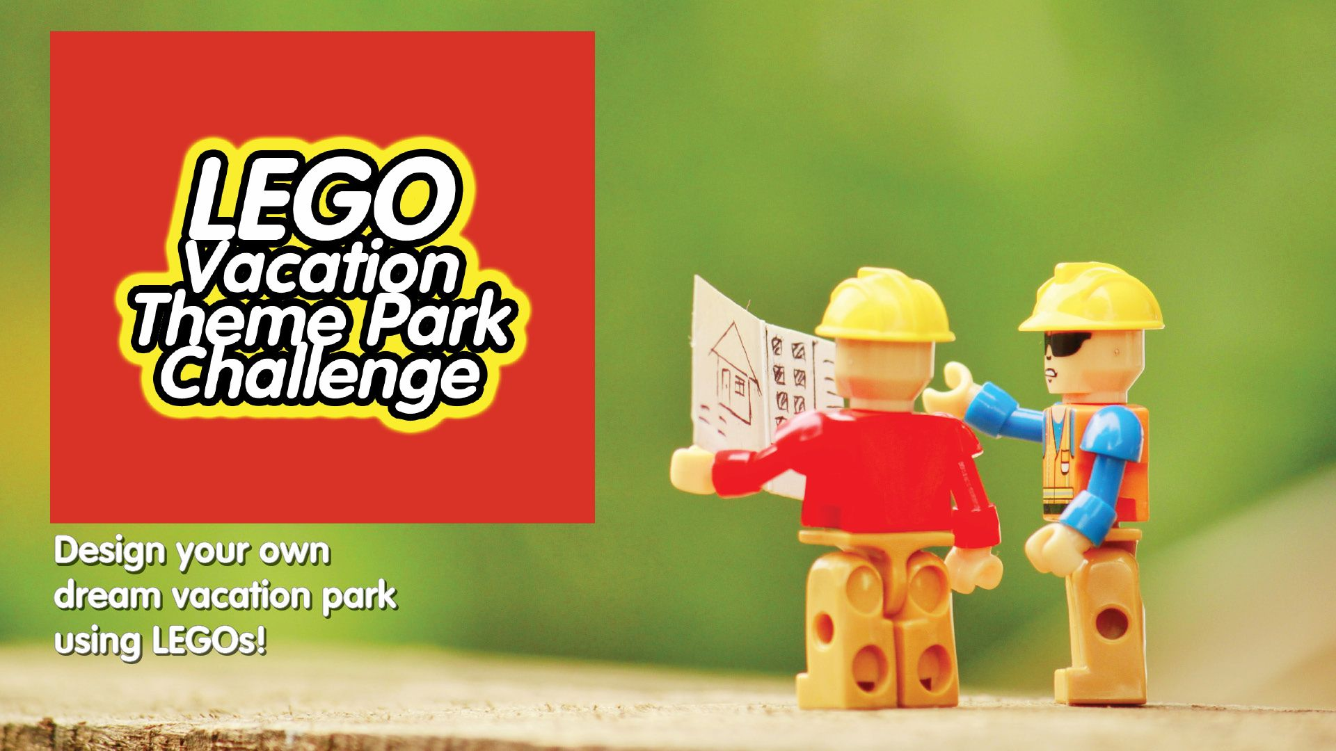 Lego Online Program: Vacation Theme Park at Patchogue-Medford Library