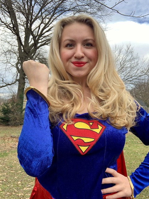 ONLINE Virtual Valentine's with Supergirl at Let's Dress Up