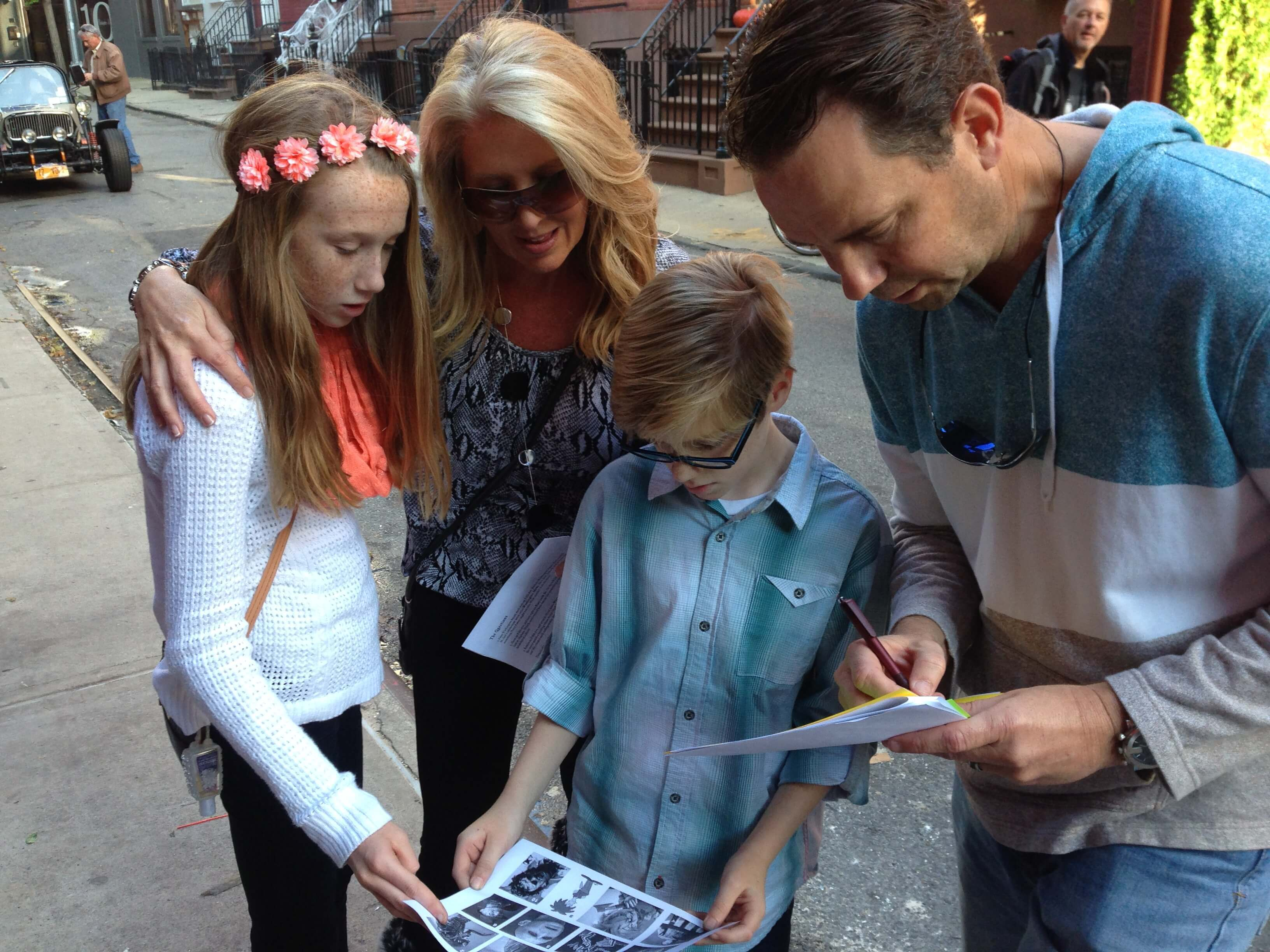 Watson Adventures' Ghosts of Greenwich Village Family Scavenger Hunt at Washington Square Park