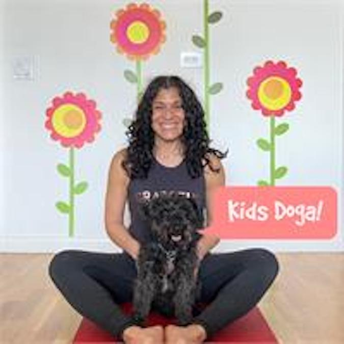 Kids Doga on Zoom at Karma Kids Yoga
