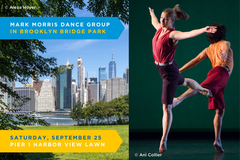 Mark Morris Dance Group in Brooklyn Bridge Park at Brooklyn Bridge Park, Pier 1 Harbor View Lawn