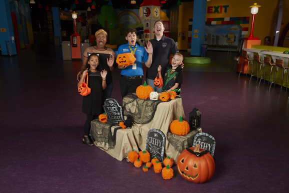 LEGO Halloween Party and Brick-Or-Treat at LEGOLAND Discovery Center Westchester