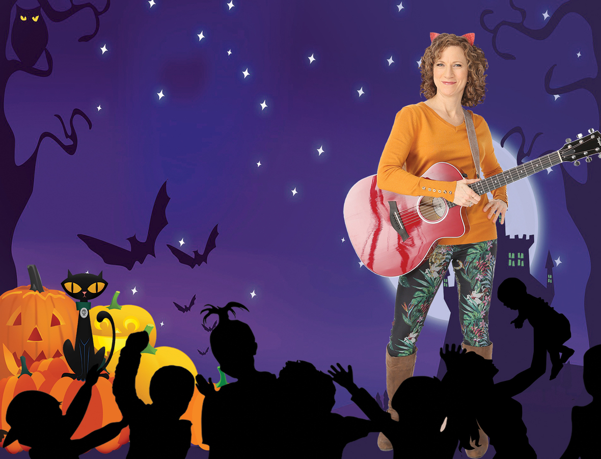 ONLINE Laurie Berkner Family 'Halloween Party' Virtual Concerts at Laurie Berkner