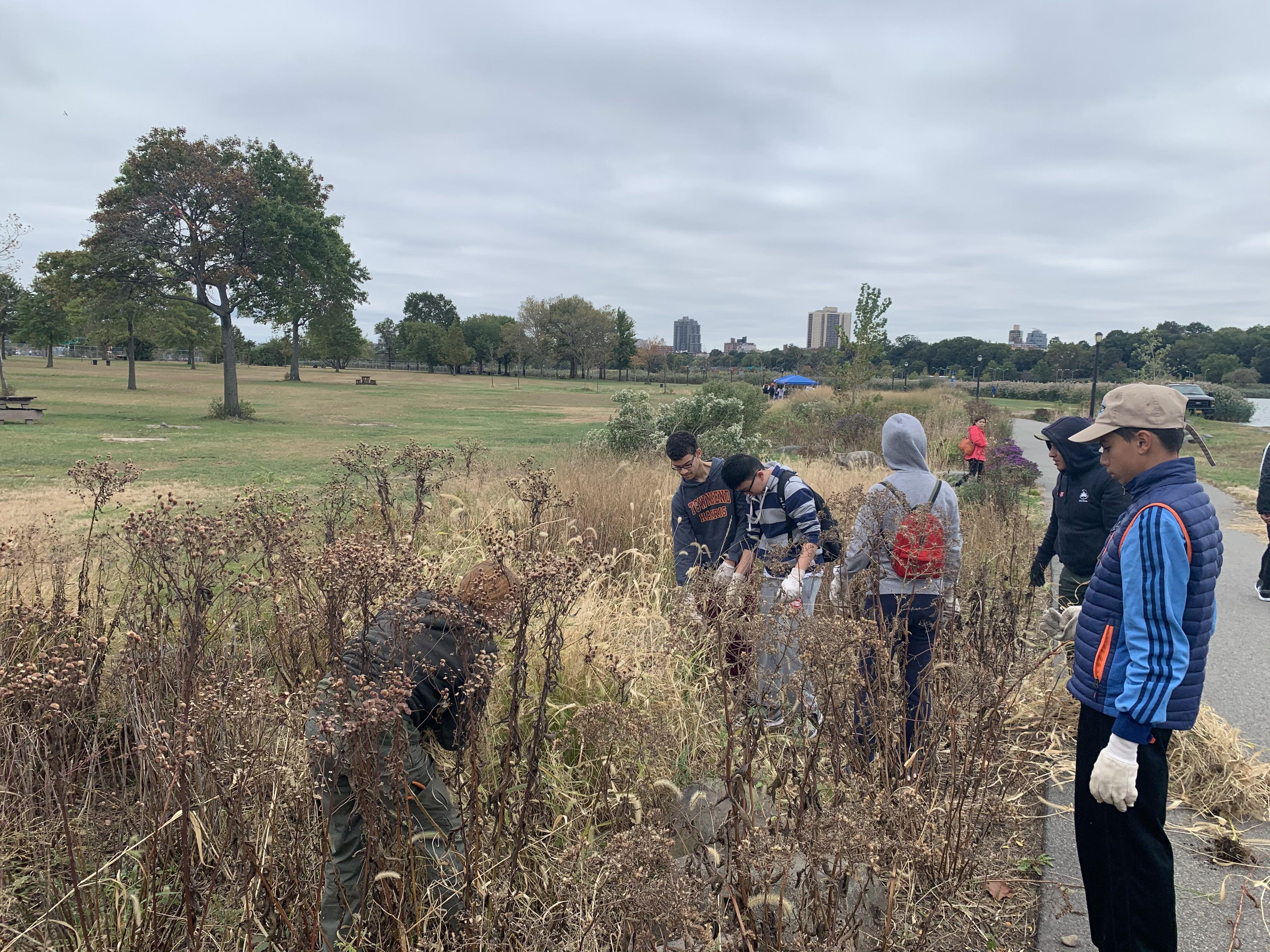 Environmental Stewardship's Fall Kickoff at Flushing Meadows Corona Park