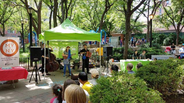 Concert at Ruppert Park: The Blue Dahlia at Ruppert Park