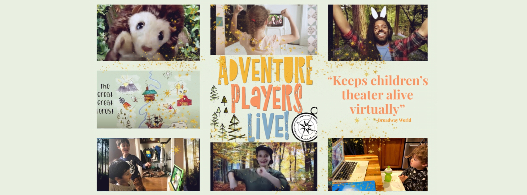 ONLINE Interactive Online Performances for Children at Adventure Players Live!