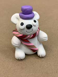 IN PERSON Make A Polar Bear With Polymer Clay (Ages 5-8, 9-12) at The Rye Arts Center