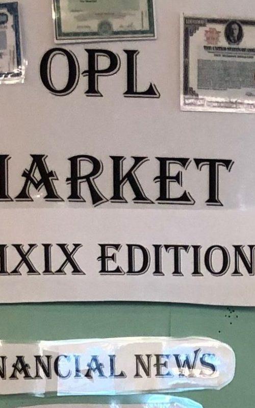 ONLINE OPL Fantasy Stock Market at Ossining Public Library