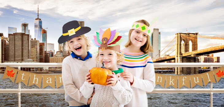 IN PERSON Thanksgiving Kids Harvest Cruise at Event Cruises NYC