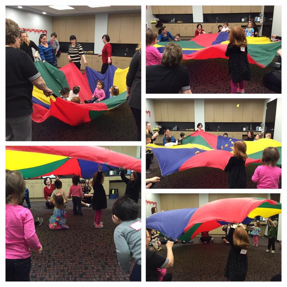 Parachute Play at Patchogue-Medford Library