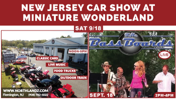 New Jersey Car Show with Music Show at Northlandz largest Model Railroad & Miniature Wonderland