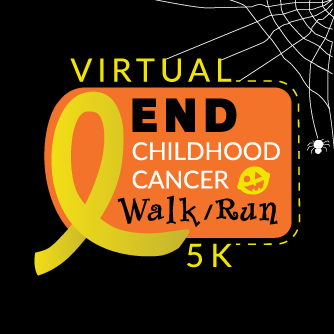 VIRTUAL End Childhood Cancer 5K - Halloween Edition at Anywhere