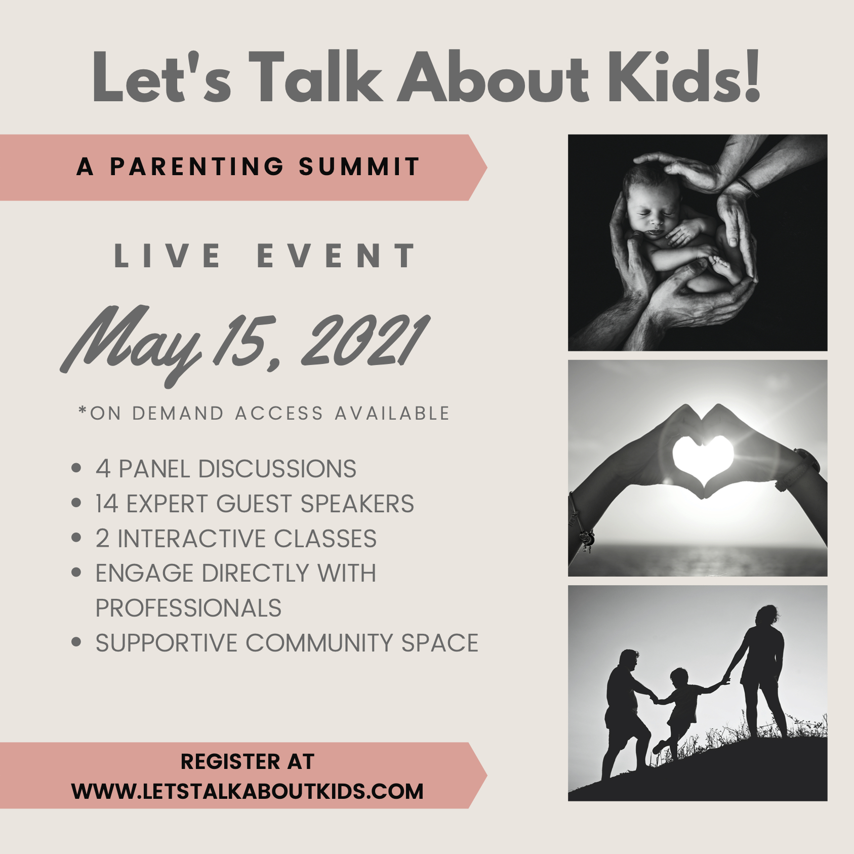 Let's Talk About Kids! A Parenting Summit at Let's Talk About Kids