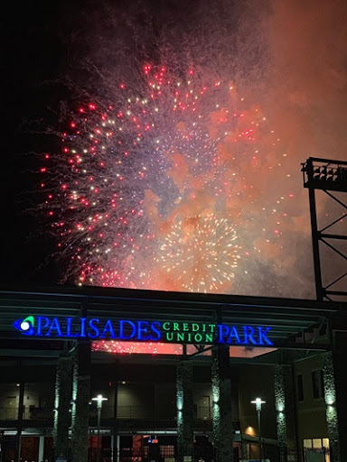Frontier League baseball and fireworks at Palisades Credit Union Park