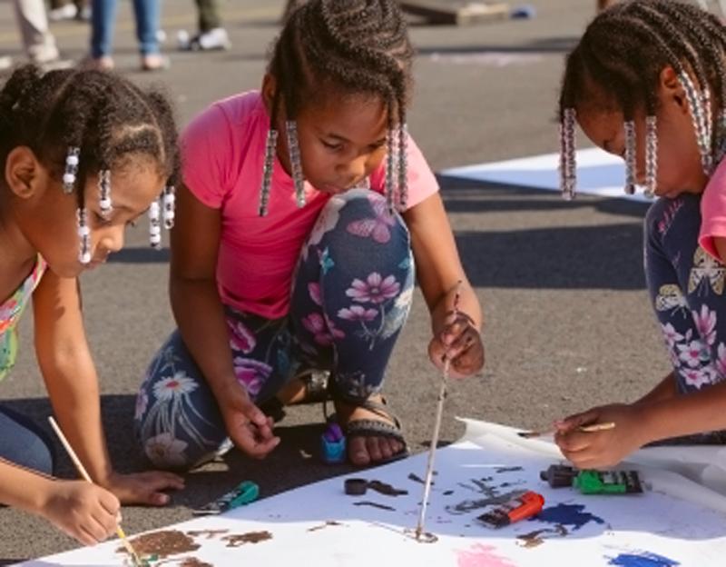 Children's Fun Day at Luther Gulick Playground