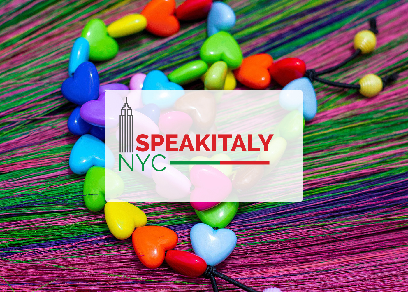 Summer Necklaces Workshop at Speakitaly NYC