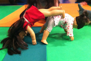 ONLINE American Girl® Doll Yoga on ZOOM! at Karma Kids Yoga