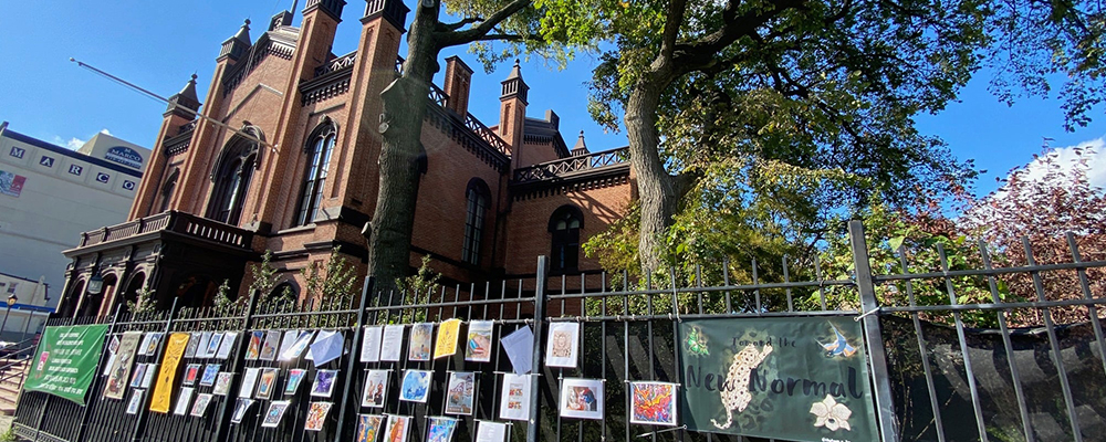 IN PERSON Community Art Exhibition - Call and Response: Grief, Resiliency, and Hope at Flushing Town Hall