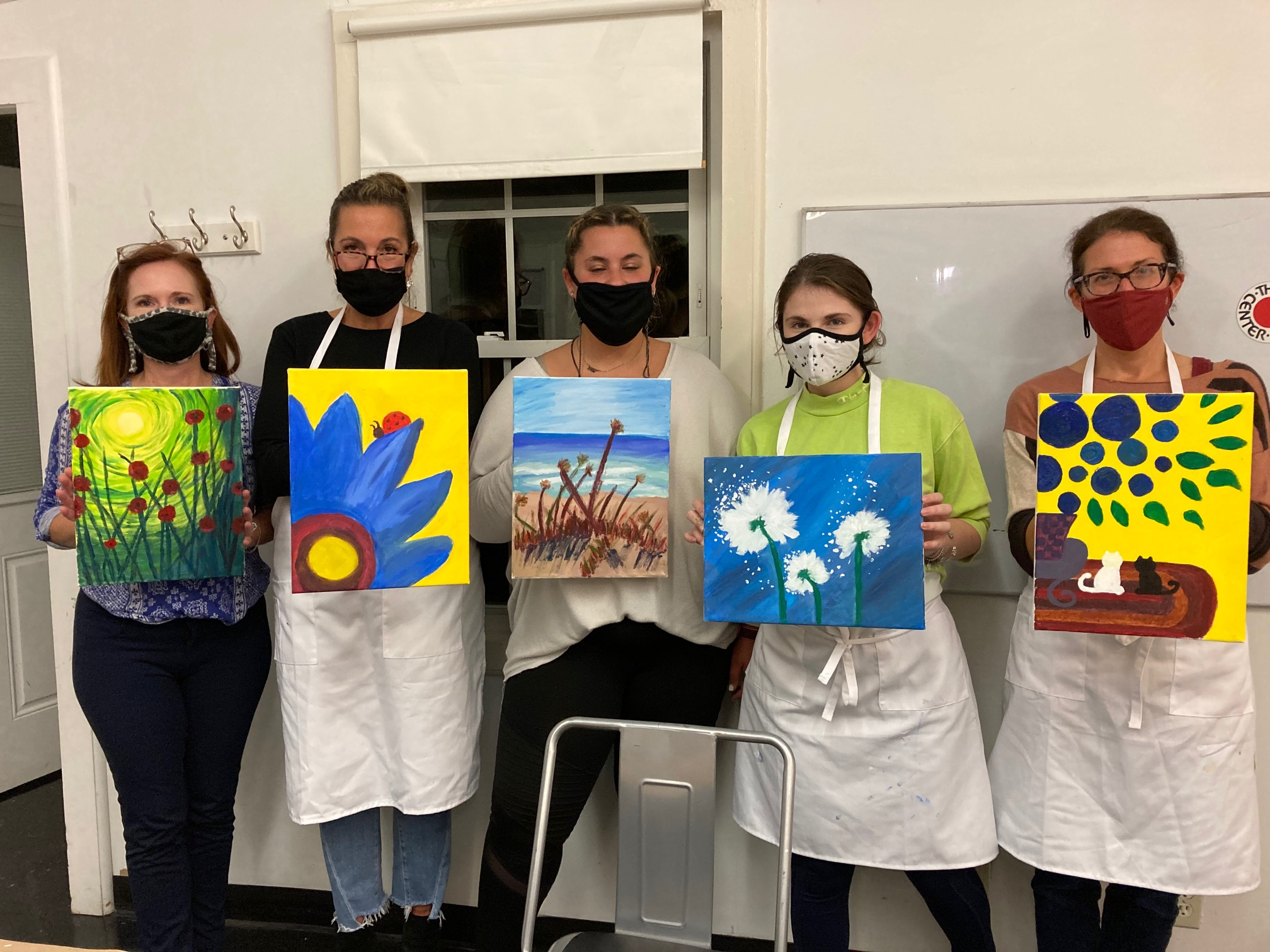 IN PERSON Loosen Up And Paint: A BYOB Night Out! at The Rye Arts Center