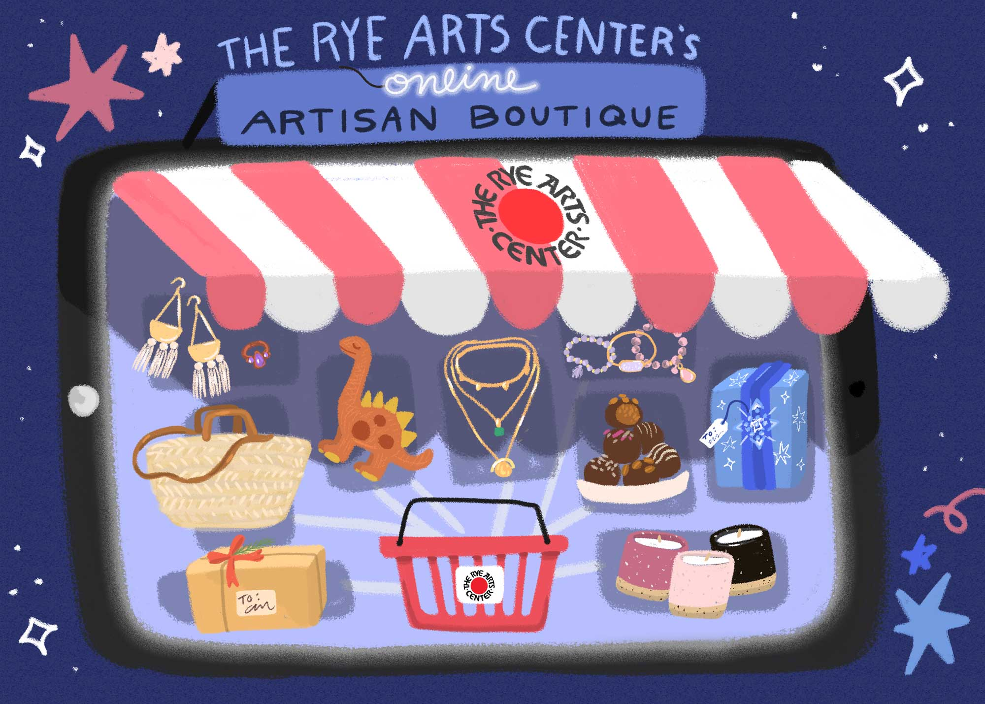 ONLINE Artisan Boutique at The Rye Arts Center