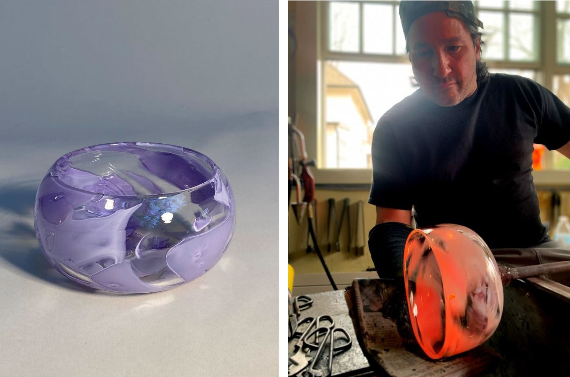 Blown Before Your Eyes: A Virtual Live Glassblowing Experience at Rockland Center for the Arts via Zoom
