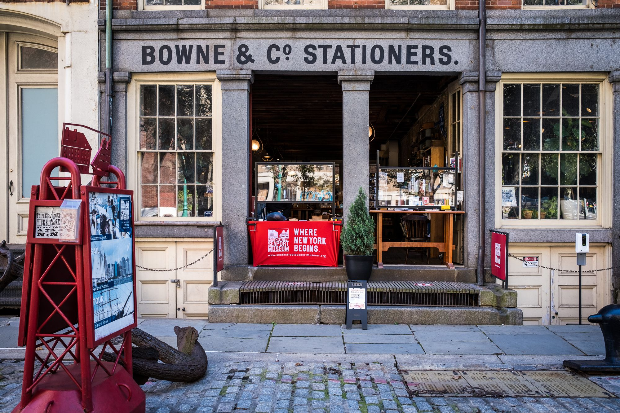 Bowne & Co. Letterpress Demonstrations at South Street Seaport Museum