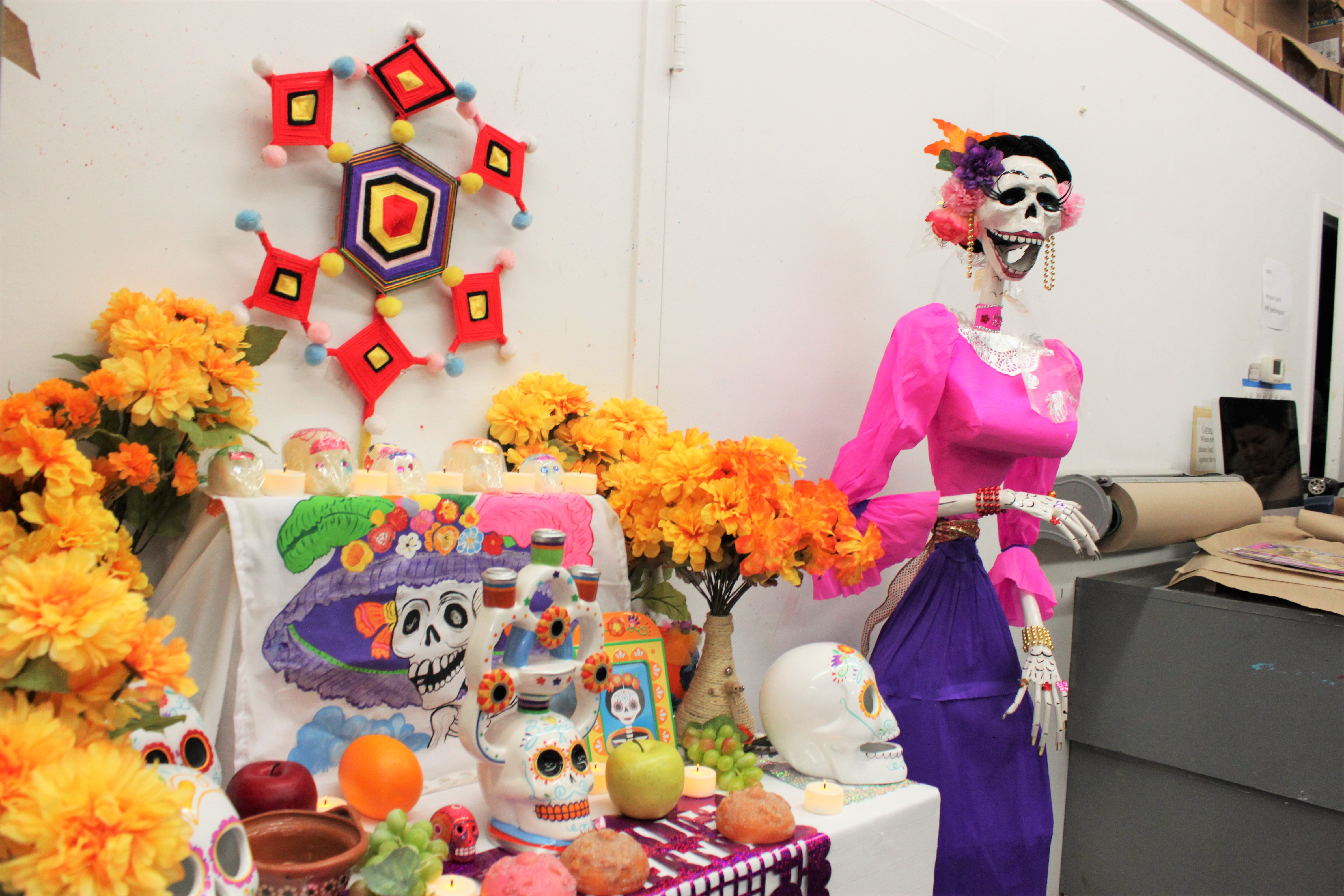 Mexican Day of the Dead at Pelham Art Center