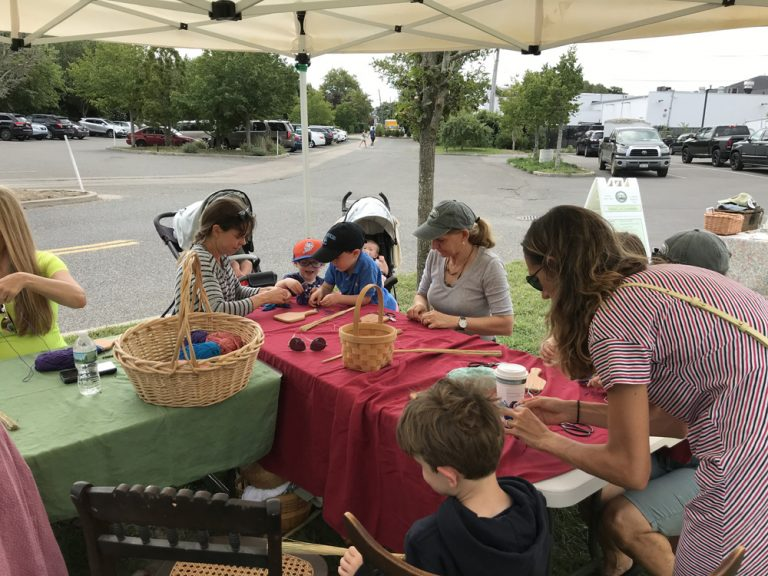Traditional Felting & 18th & 19th C Amusements for Children at Westhampton Beach Historical Society