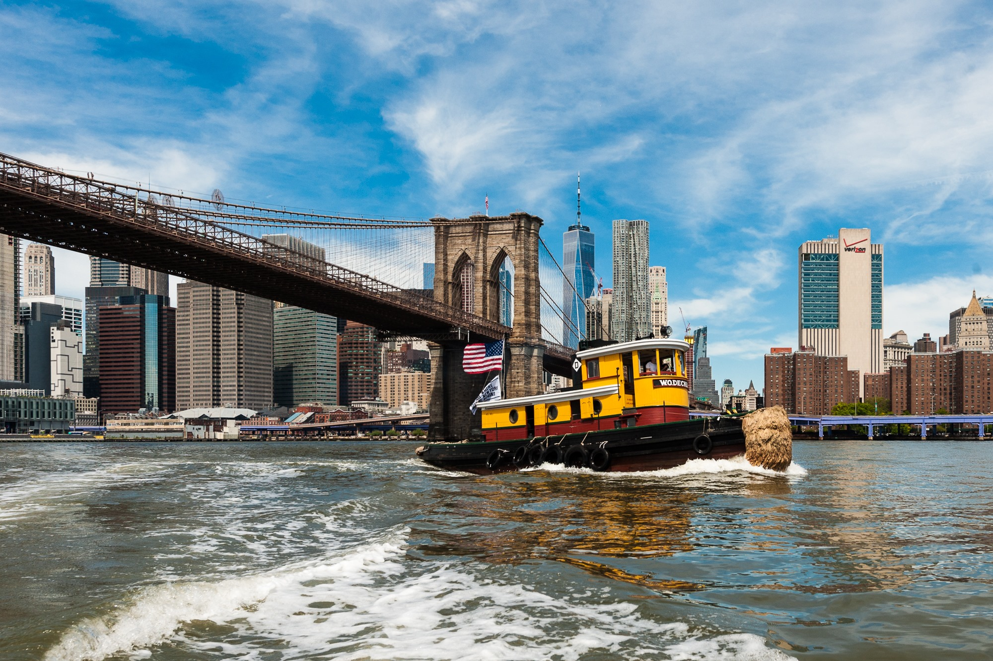 Tugboat Rides on W.O. Decker at South Street Seaport Museum