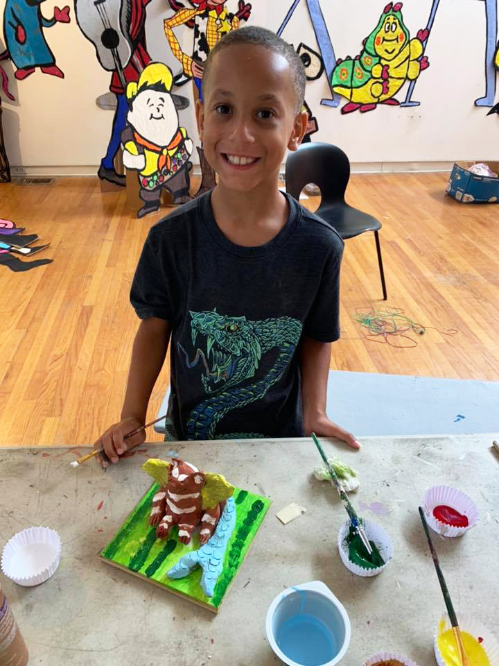 Summer Art Camp Open House - Outdoor Live at Rockland Center for the Arts